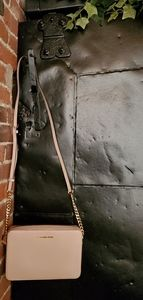 Michael kors J Large Saffino Leather Crossbody
